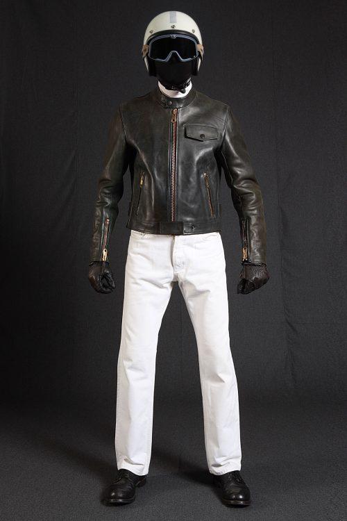 BiondoEndurance_Motorräder_LGB_005_Leather-Jacket_BRG_Portrait_Front