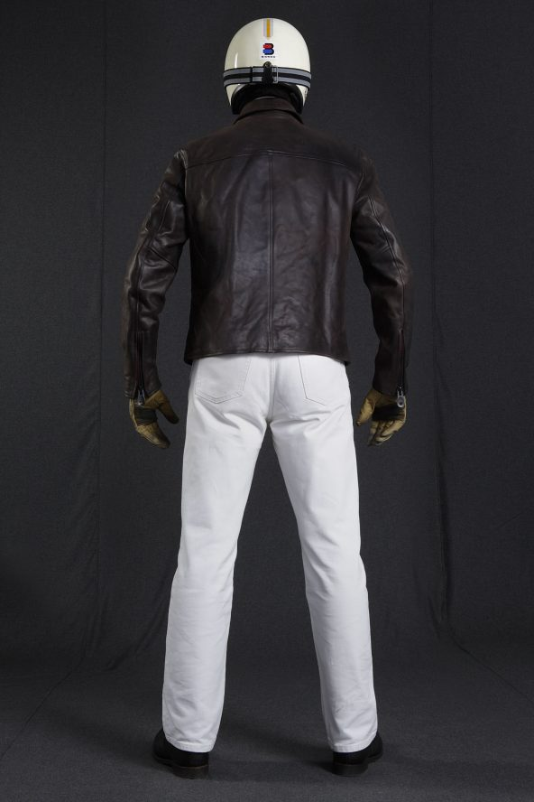 BiondoEndurance_Motorräder_LGB_003_Leather-Jacket_DkBrown_Portrait_Back