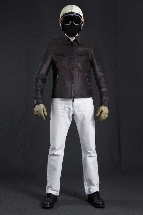 BiondoEndurance_Motorräder_LGB_003_Leather-Jacket_DkBrown_Portrait_Front
