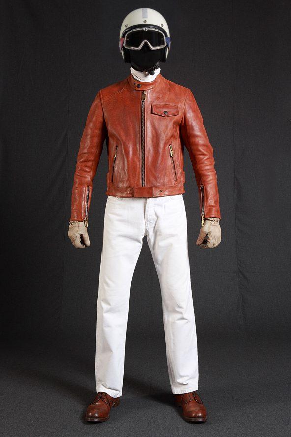BiondoEndurance_Motorräder_LGB_005_Leather-Jacket_Tobacco_Portrait_Front