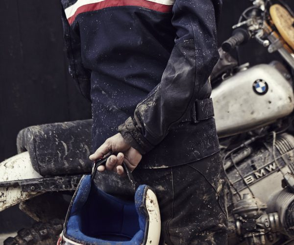BDO_Enduro_Motorcycle_Pilot_Jacket_Back_Stripes_And_BMW_Motorcycle