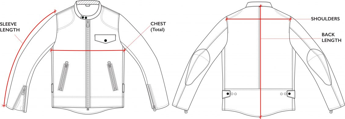 BiondoEndurance_Motorräder_LGB_005_Leather-Jacket_Technical_Drawing