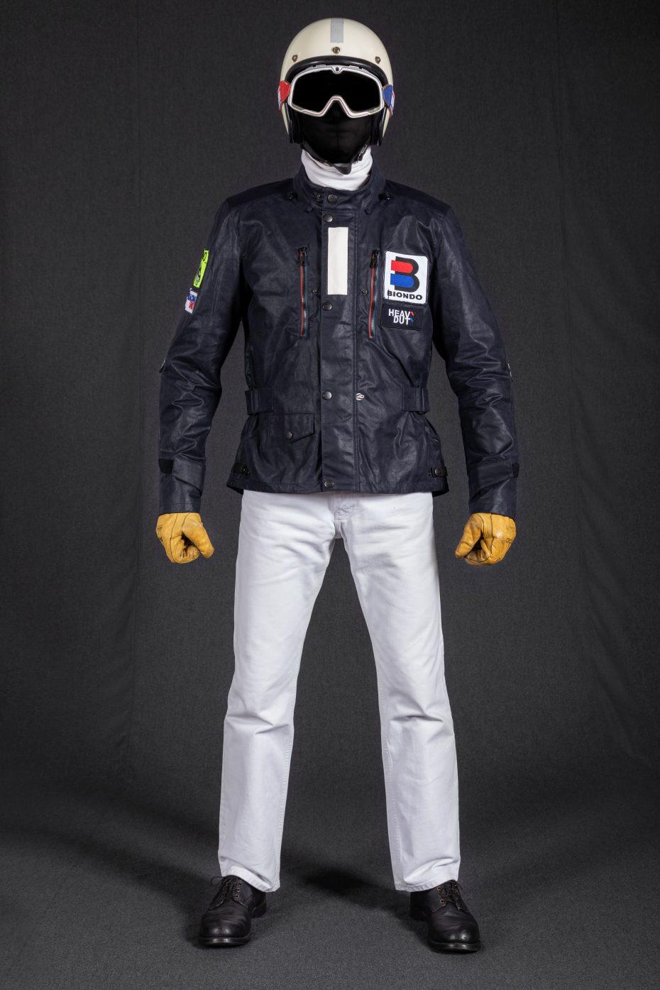 BiondoEndurance_Motorräder_GB_0009_Jacket-MkIII_RacingUnit_NavyBlue_CottonCanvas_Portrait_Front